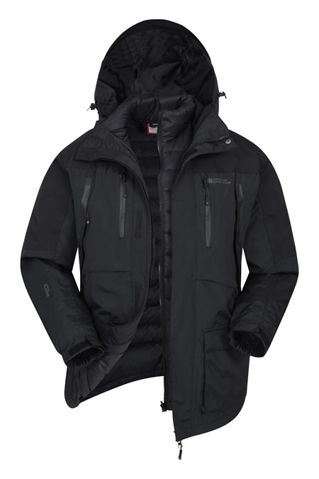 028551 CORRESPONDENT DOWN PADDED 3 IN 1 JACKET