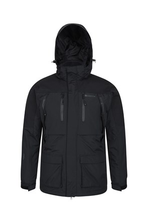 Correspondent Mens Down Padded 3 In 1 Jacket