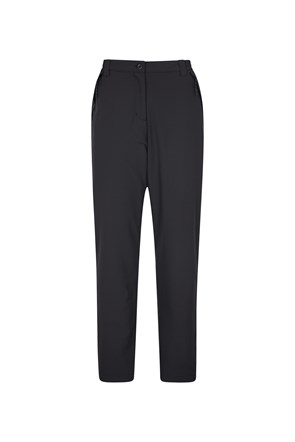 Arctic Fleece Lined Womens Stretch Trousers - Short Length