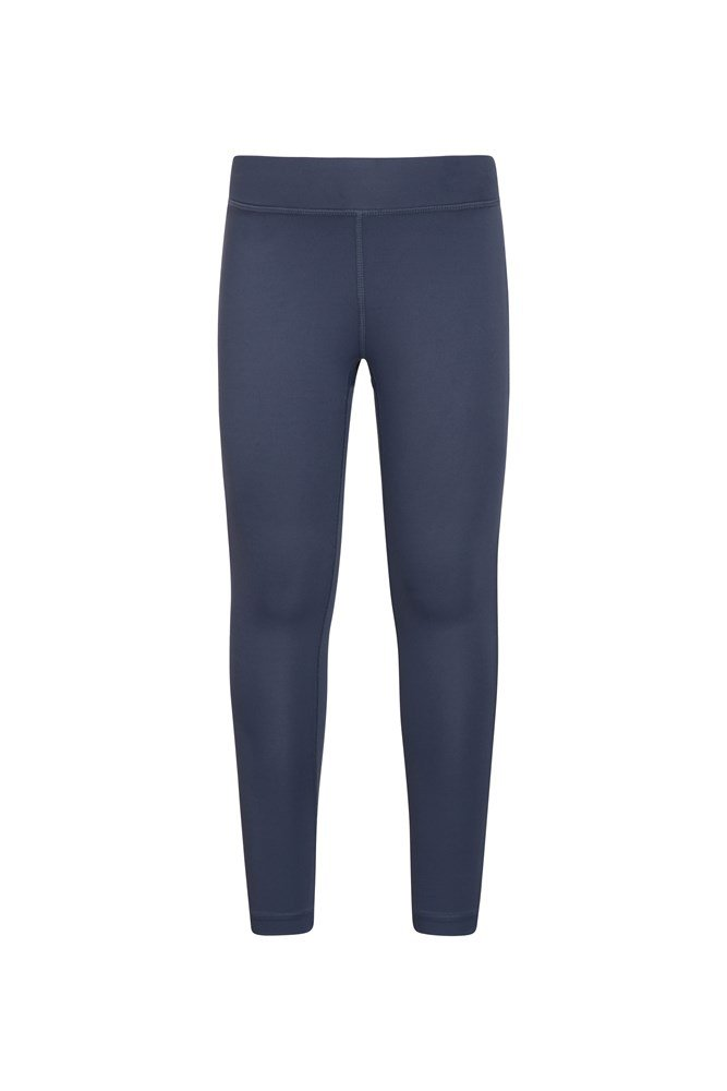 Flick Flack Soft Touch Kids Leggings - Navy