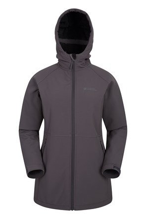 Exmoor Furlined Womens Long Softshell
