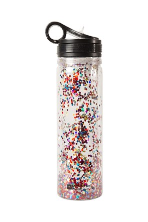 Glitter Water Bottle - 600ml