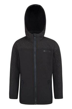 Kids Reflective Softshell