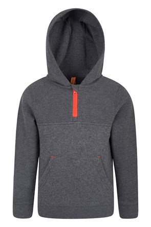In The Game Melange Kids Hoodie
