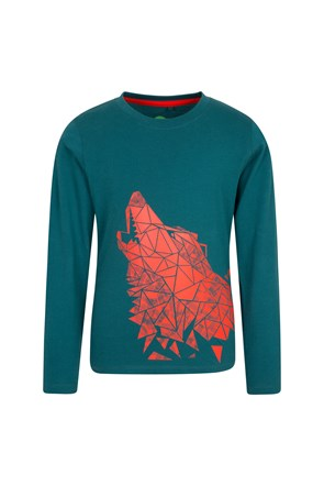 Steve Backshall Wolf Kids Top