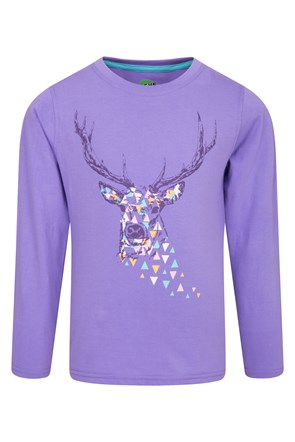 Steve Backshall Deer Kids Top