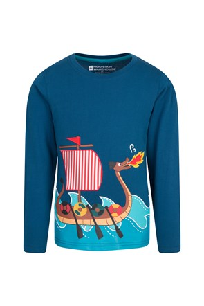 Ahoy Dragon Boat Kids Top