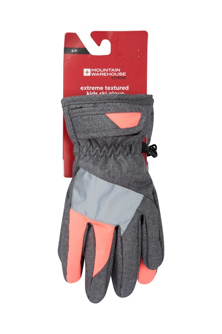 028706 EXTREME TEXTURED SKI GLOVE KIDS