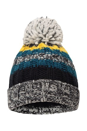 Fleece Lined Kids Knitted Beanie