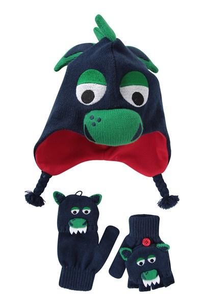 Dragon Kids Hat - Green