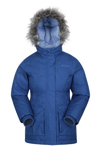Freeze Over Kids Down Padded Jacket - Blue