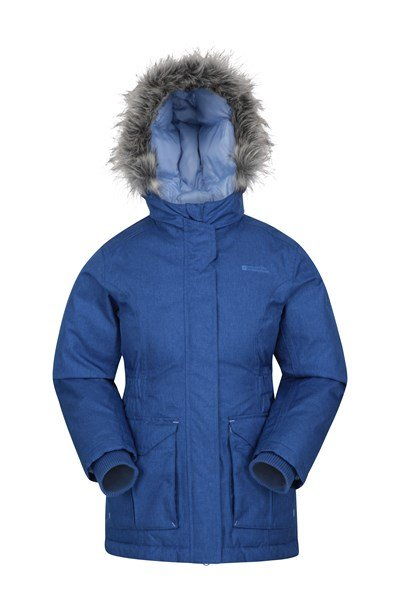 Freeze Over Kids Down Padded Jacket - Blue