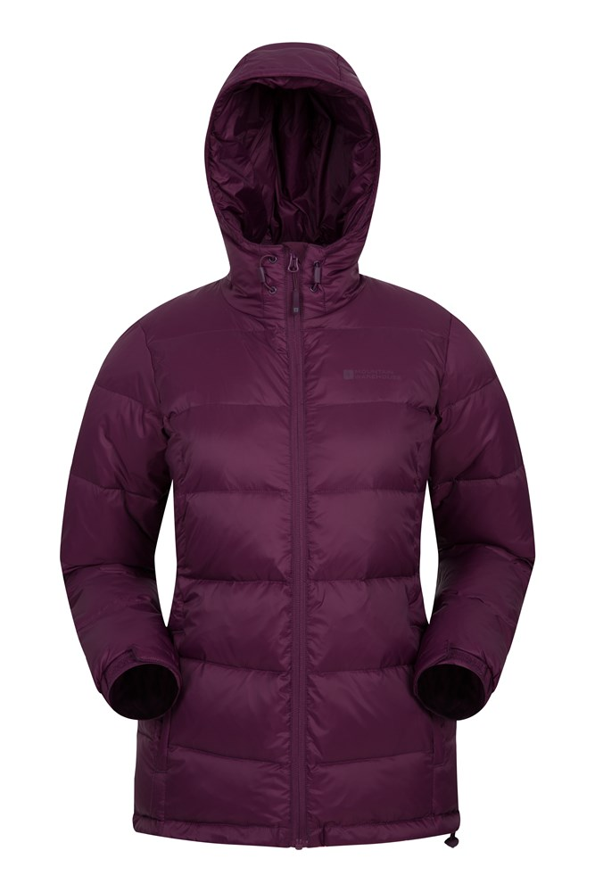 Aoraki Womens Down Jacket - Purple