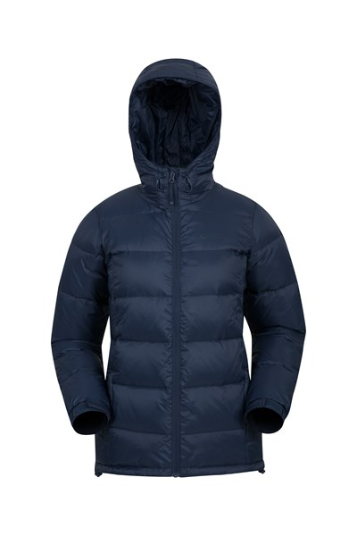 Aoraki Womens Down Jacket - Navy