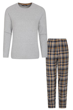 Mens Flannel Pyjama Set