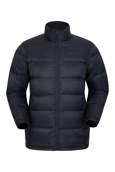 Drift Mens Down Padded Jacket - Black