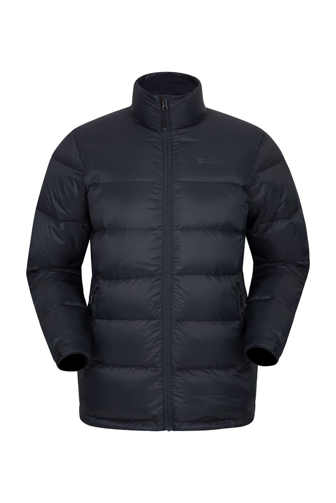 Drift Mens Down Padded Jacket - Black