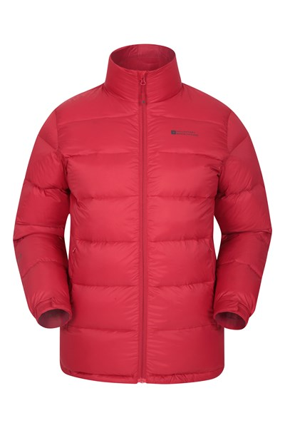 Drift Mens Down Padded Jacket - Red