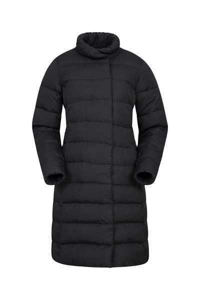 Wrapped Up Womens Down Jacket - Black