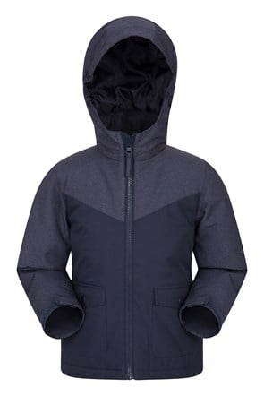 Logan Water-resistant Padded Kids Jacket