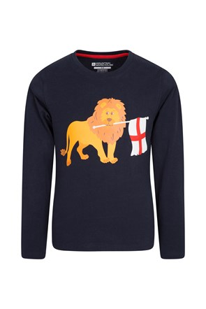 Camiseta English Lion Niños