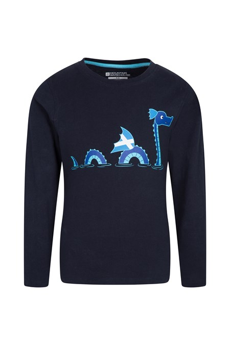 029250 SCOTTISH NESSIE KIDS TEE