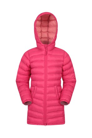 Florence Kids Longline Padded Jacket