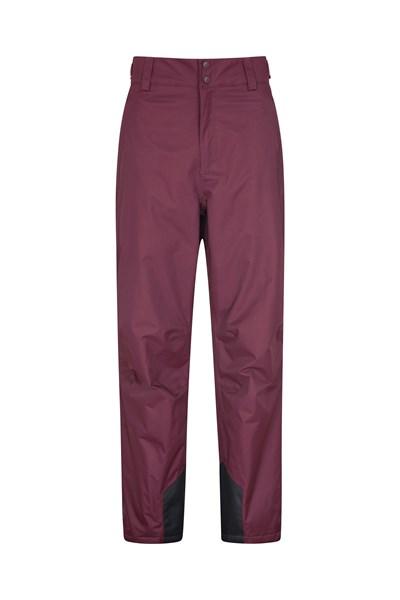 Gravity Mens Ski Pants - Short Length - Burgundy