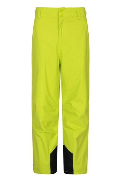 Gravity Mens Ski Pants - Short Length - Green