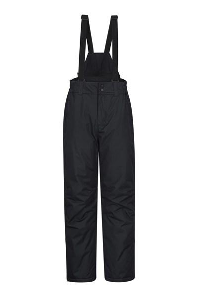 Dusk Short Mens Ski Pants - Black
