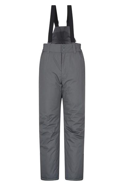 Dusk Short Mens Ski Pants - Grey