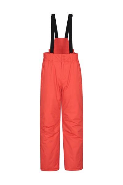 Dusk Short Mens Ski Pants - Orange