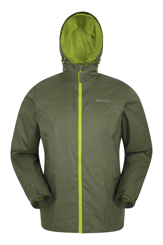 Torrent II Mens Waterproof Jacket - Green