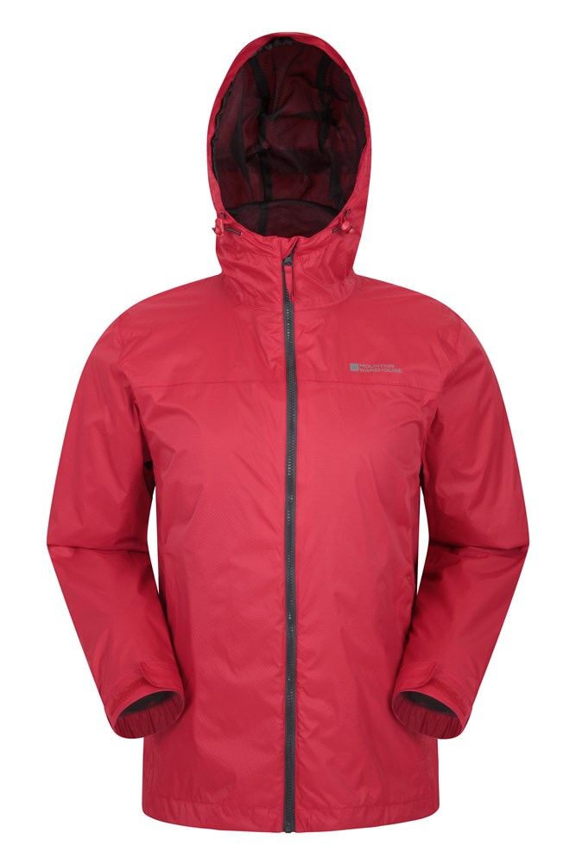 Torrent II Mens Waterproof Jacket - Red