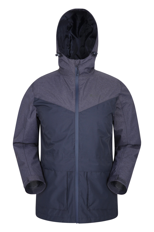 Altitude Mens Waterproof Jacket - Navy