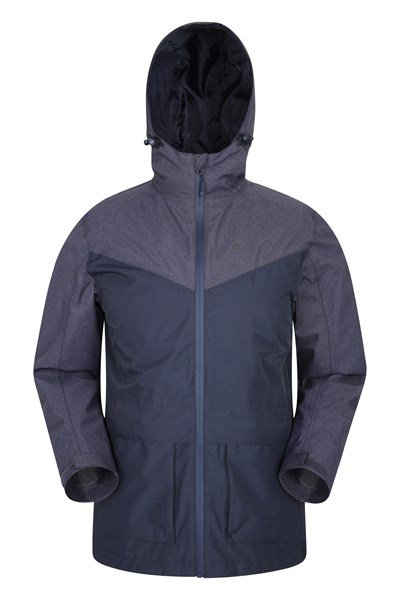 Altitude Mens Waterproof Jacket - Navy