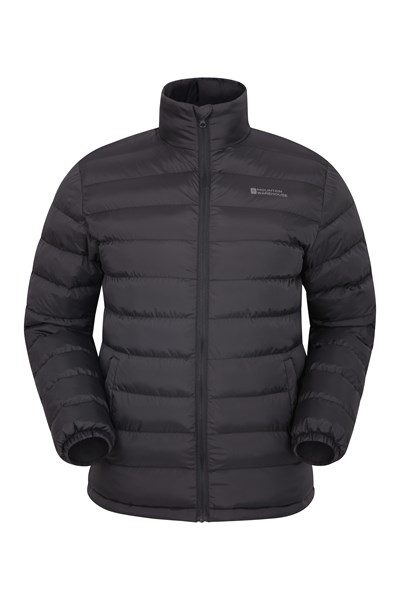 Vista Mens Padded Jacket - Black