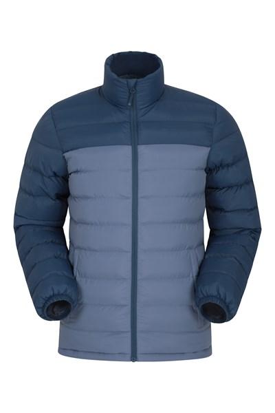 Vista Mens Padded Jacket - Blue