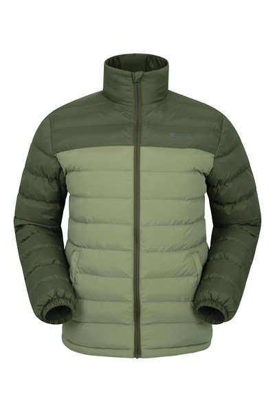Vista Mens Padded Jacket - Green