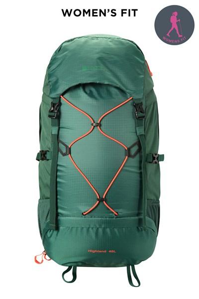 Highland 40L Backpack - Green