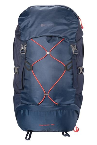 Highland 40L Backpack - Navy
