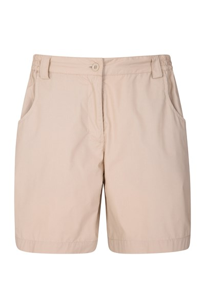 Quest Womens Shorts - Beige