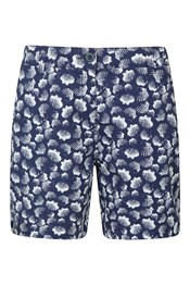 Lakeside II Gemusterte Damen-Shorts