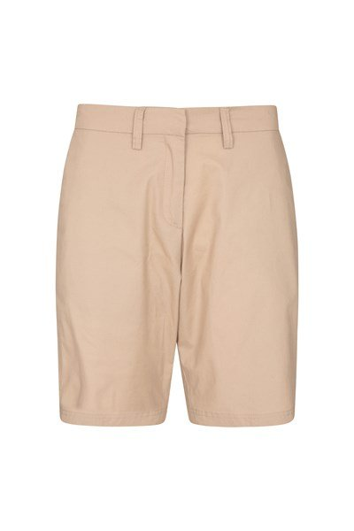 Seaside Womens Chino Shorts - Beige