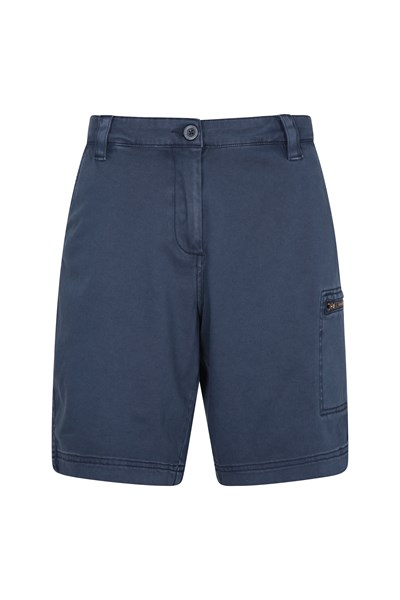 Cruise Stretch Womens Shorts - Navy