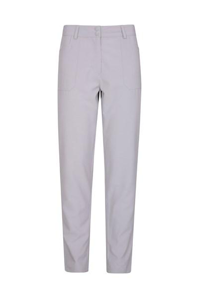 Stride Ultra-Light Slimline Womens Trousers - Short Length - Grey