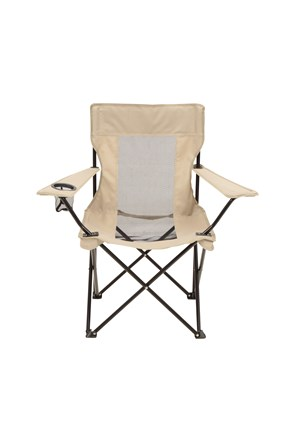 Folding Chair with Mesh