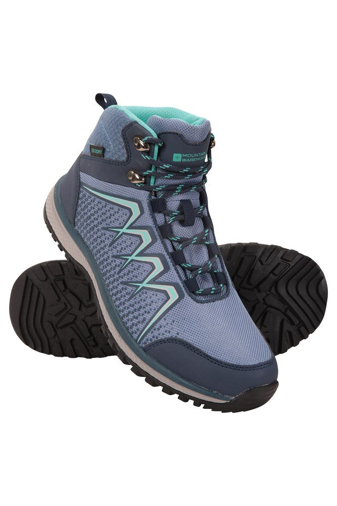 Constellation Womens Waterproof Boots - Blue