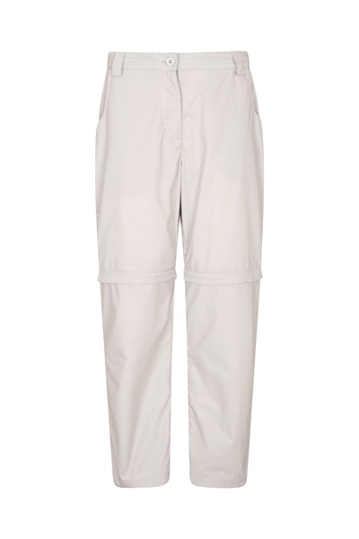 Quest Womens Zip-Off Trousers - Short Length - Grey