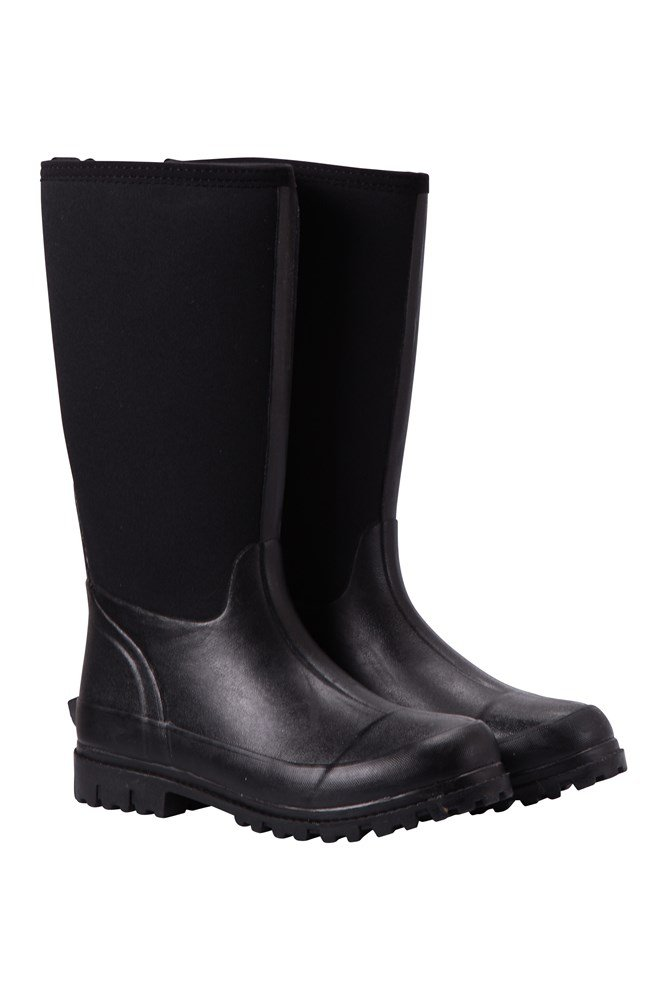Mucker Womens Neoprene Long Boots - Black